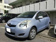 沖縄の中古車 トヨタ ヴィッツ 車両価格 30万円 リ済込 平成19年 4.2万K ライトブルー