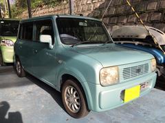 沖縄の中古車 スズキ アルトラパン 車両価格 18万円 リ済込 平成16年 3.9万K Lグリーン