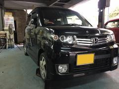 沖縄の中古車 ホンダ ゼストスパーク 車両価格 40万円 リ済込 平成22年 10.2万K ブラック