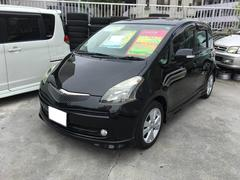 沖縄の中古車 トヨタ ラクティス 車両価格 39万円 リ済込 平成19年 9.5万K ブラック