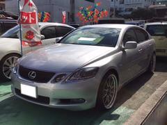 沖縄の中古車 レクサス GS 車両価格 138万円 リ済込 平成18年 7.2万K シルバー