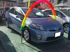 沖縄の中古車 トヨタ プリウス 車両価格 112万円 リ済込 平成23年 8.3万K ライトブルー