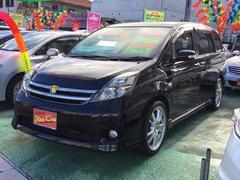 沖縄の中古車 トヨタ アイシス 車両価格 79万円 リ済込 平成21年 9.6万K ブラック
