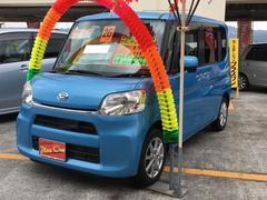 沖縄の中古車 ダイハツ タント 車両価格 82万円 リ済込 平成26年 7.5万K ブルー