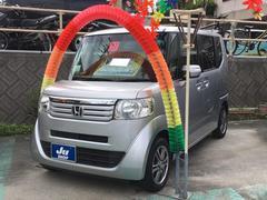 沖縄の中古車 ホンダ N BOX 車両価格 96万円 リ済込 平成27年 6.9万K シルバー