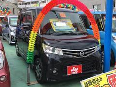 沖縄の中古車 日産 ルークス 車両価格 73万円 リ済込 平成23年 8.3万K ブラック