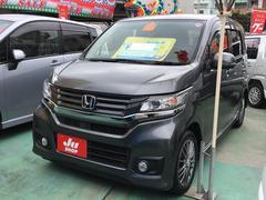 沖縄の中古車 ホンダ N−WGNカスタム 車両価格 112万円 リ済込 平成27年 5.7万K グレーM