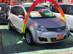 沖縄の中古車 日産 ノート 車両価格 55万円 リ済込 平成23年 5.9万K シルバー