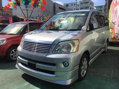 沖縄の中古車 トヨタ ノア 車両価格 55万円 リ済込 平成19年 10.8万K シルバー