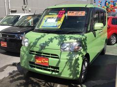 沖縄の中古車 ダイハツ タント 車両価格 63万円 リ済込 平成23年 8.8万K Lグリーン
