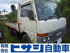 沖縄の中古車 日産 アトラストラック 車両価格 45万円 リ済込 昭和61年 2.6万K ホワイト