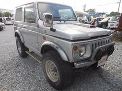 沖縄の中古車 スズキ ジムニー 車両価格 7万円 リ済込 平成10年 13.7万K シルバー