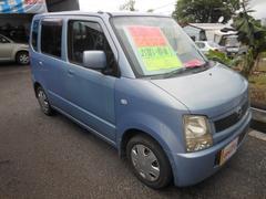 沖縄の中古車 マツダ AZワゴン 車両価格 16万円 リ済込 平成16年 14.9万K ライトブルー