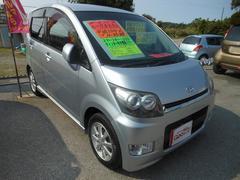 沖縄の中古車 ダイハツ ムーヴ 車両価格 33万円 リ済込 平成19年 8.9万K シルバー