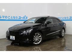 沖縄の中古車 トヨタ マークX 車両価格 139万円 リ済別 平成22年 6.2万K ブラック