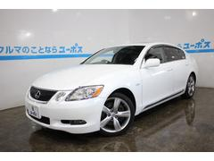 沖縄の中古車 レクサス GS 車両価格 109万円 リ済別 平成19年 8.8万K ホワイトパールクリスタルシャイン