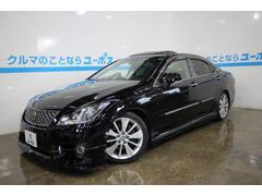 沖縄の中古車 トヨタ クラウン 車両価格 189万円 リ済別 平成23年 6.4万K ブラック