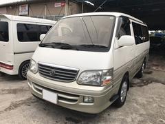 沖縄の中古車 トヨタ ハイエースワゴン 車両価格 49万円 リ済込 平成13年 16.8万K ホワイトII