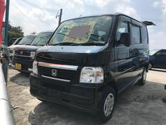 沖縄の中古車 ホンダ バモス 車両価格 27万円 リ済込 平成21年 11.9万K ブラック