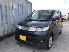 沖縄の中古車 スズキ ワゴンRスティングレー 車両価格 37万円 リ済込 平成22年 13.5万K ガンM