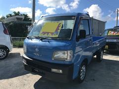 沖縄の中古車 ダイハツ ハイゼットトラック 車両価格 26万円 リ済込 平成11年 13.8万K ライトブルー