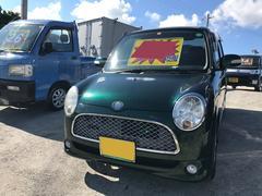 沖縄の中古車 ダイハツ ミラジーノ 車両価格 27万円 リ済込 平成17年 16.3万K グリーンM
