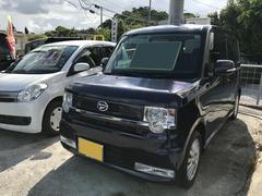 沖縄の中古車 ダイハツ ムーヴコンテ 車両価格 34万円 リ済込 平成20年 13.6万K アーバンナイトブルークリスタルM