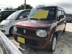 沖縄の中古車 スズキ アルトラパン 車両価格 37万円 リ済込 平成21年 10.8万K ブラウンM