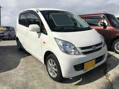沖縄の中古車 ダイハツ ムーヴ 車両価格 25万円 リ済込 平成19年 11.9万K ホワイト