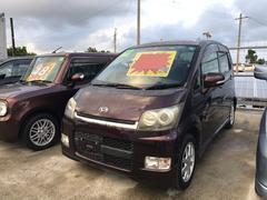 沖縄の中古車 ダイハツ ムーヴ 車両価格 22万円 リ済込 平成19年 14.2万K ダークパープル