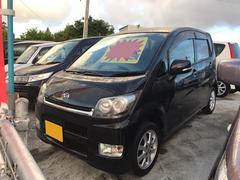 沖縄の中古車 ダイハツ ムーヴ 車両価格 25万円 リ済込 平成19年 15.3万K ブラック