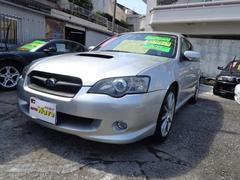 沖縄の中古車 スバル レガシィツーリングワゴン 車両価格 59万円 リ済込 平成16年 12.6万K シルバーM