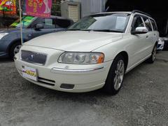 沖縄の中古車 ボルボ ボルボ V70 車両価格 69万円 リ済込 2006年 9.7万K パールM