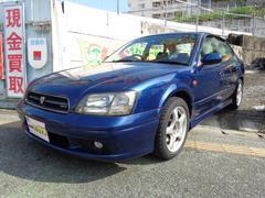 沖縄の中古車 スバル レガシィB4 車両価格 39万円 リ済込 平成12年 6.4万K ダークブルーM