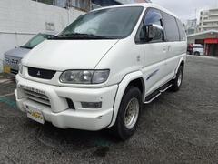 沖縄の中古車 三菱 デリカスペースギア 車両価格 55万円 リ済込 平成18年 16.2万K ホワイトM