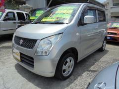 沖縄の中古車 スズキ ワゴンR 車両価格 42万円 リ済込 平成21年 11.3万K シルバーM
