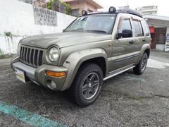沖縄の中古車 クライスラー・ジープ クライスラージープ チェロキー 車両価格 75万円 リ済込 2005年 8.1万K ゴールドM