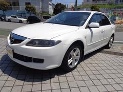 沖縄の中古車 マツダ アテンザセダン 車両価格 49万円 リ済込 平成18年 9.6万K パールホワイト