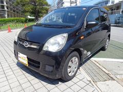 沖縄の中古車 ダイハツ ミラ 車両価格 36万円 リ済込 平成21年 11.1万K ブラック