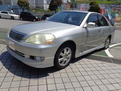 沖縄の中古車 トヨタ マークII 車両価格 39万円 リ済込 平成13年 14.3万K シルバーM