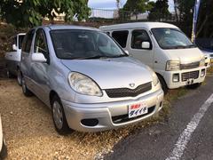 沖縄の中古車 トヨタ ファンカーゴ 車両価格 27万円 リ済込 平成17年 12.7万K シルバー
