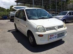沖縄の中古車 三菱 ミニカ 車両価格 11万円 リ済込 平成14年 9.9万K ホワイト