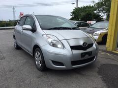 沖縄の中古車 トヨタ ヴィッツ 車両価格 43万円 リ済込 平成20年 7.2万K シルバーM