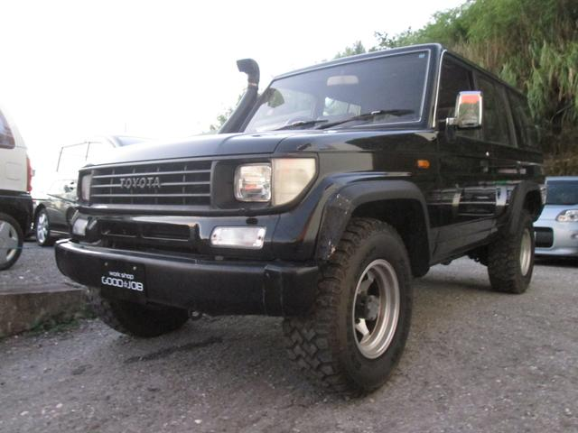 トヨタ ディーゼルターボ 4WD 5人乗り 1ナンバー