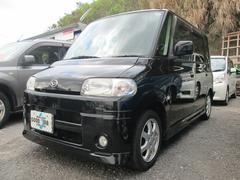 沖縄の中古車 ダイハツ タント 車両価格 23万円 リ済込 平成17年 11.7万K ブラックM