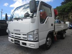 沖縄の中古車 いすゞ エルフトラック 車両価格 116万円 リ済込 平成20年 24.1万K ホワイト