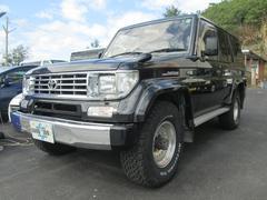 沖縄の中古車 トヨタ ランドクルーザープラド 車両価格 98万円 リ済込 平成5年 22.6万K 色替ブラックM