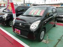 沖縄の中古車 スズキ アルトエコ 車両価格 44万円 リ済込 平成24年 11.6万K ブラック
