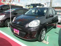 沖縄の中古車 日産 マーチ 車両価格 67万円 リ済込 平成24年 5.3万K パープル