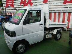 沖縄の中古車 三菱 ミニキャブトラック 車両価格 64万円 リ済込 平成16年 15.6万K ホワイト